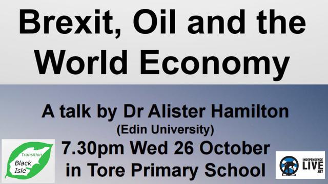 No Internet @ Venue Dr Alister Hamilton - Brexit, Oil and the World Economy