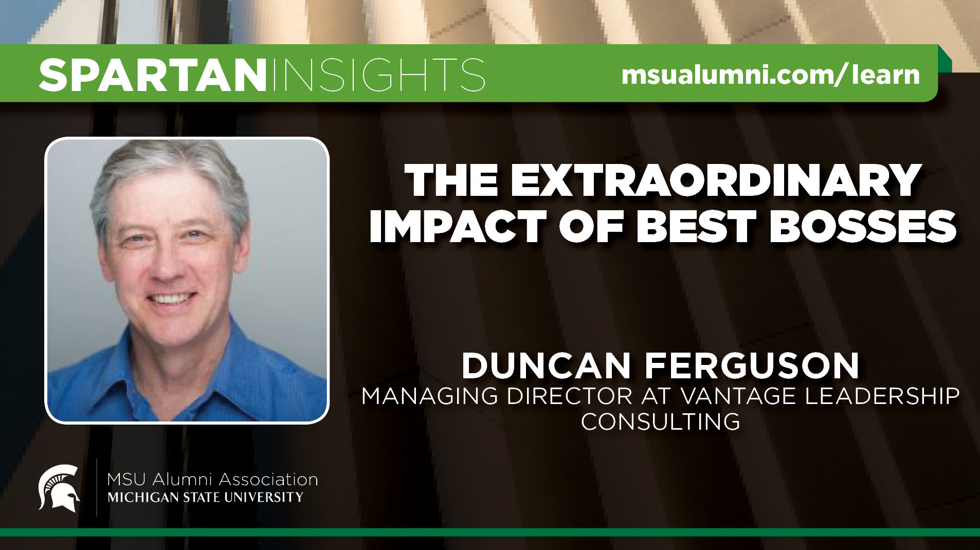 webinar cover image for Duncan Ferguson | The Extraordinary Impact Of Best Bosses