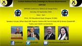 SNP CND Conference: Defence & Foreign Policy