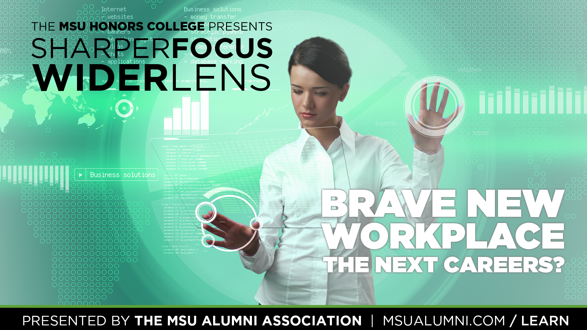 livestream cover image for SFWL | Brave New Workplace: The Next Careers?