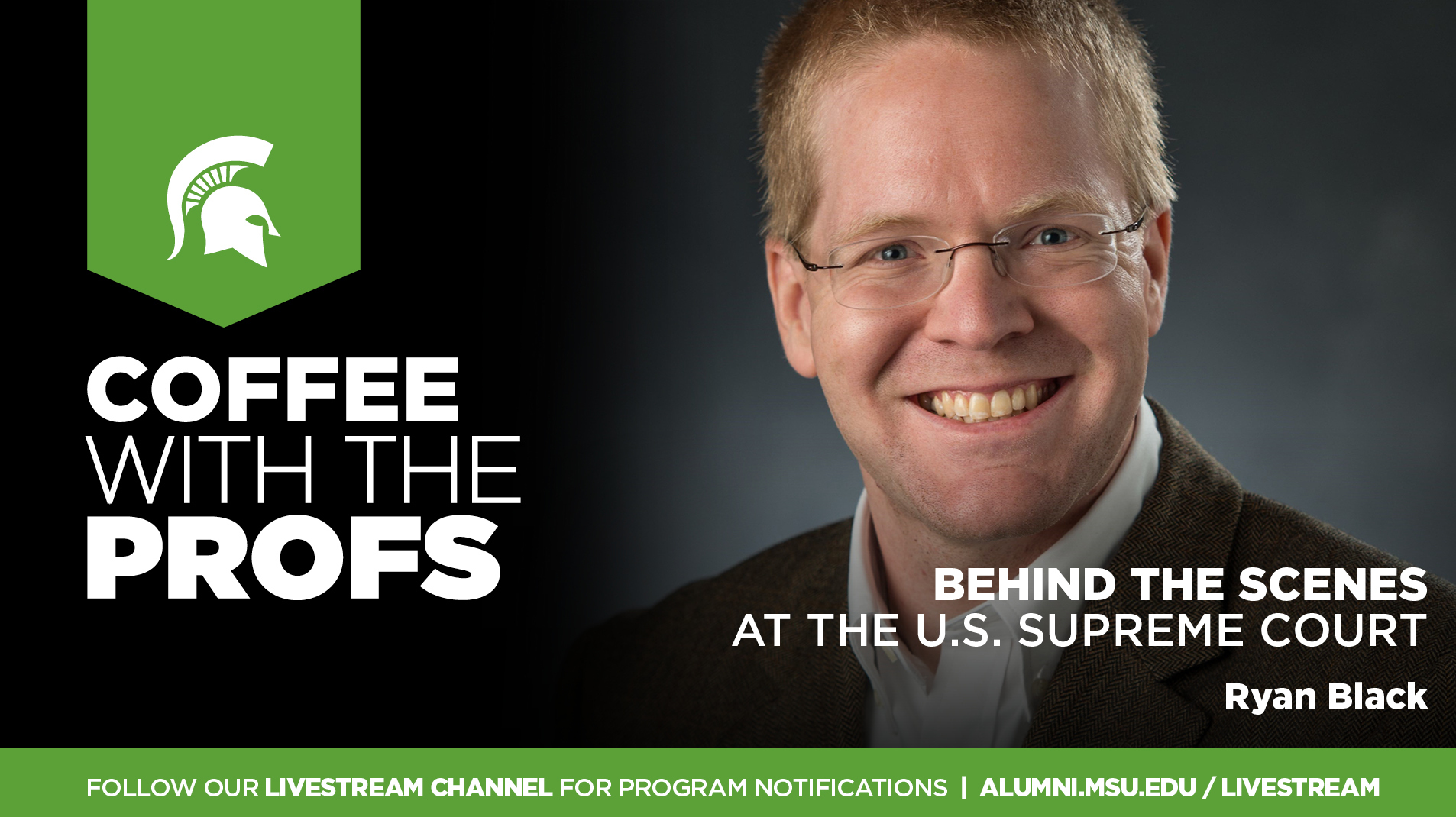 Livestream cover image for CWTP   Behind the Scenes at the U.S. Supreme Court