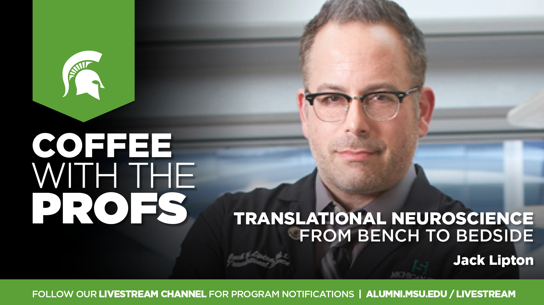 Livestream cover image for CWTP   Translational Neuroscience: from Bench to Bedside
