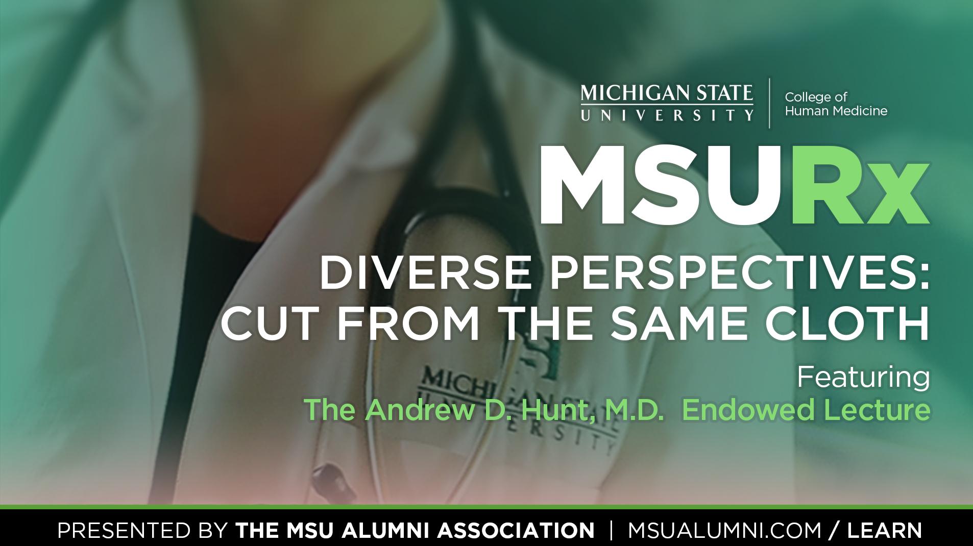 Livestream cover image for MSURx 2016