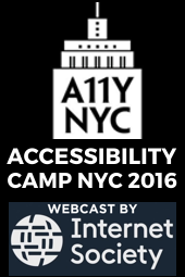 Accessibility Camp NYC 2016