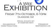 A Wee exhibition with Wee Skribbles