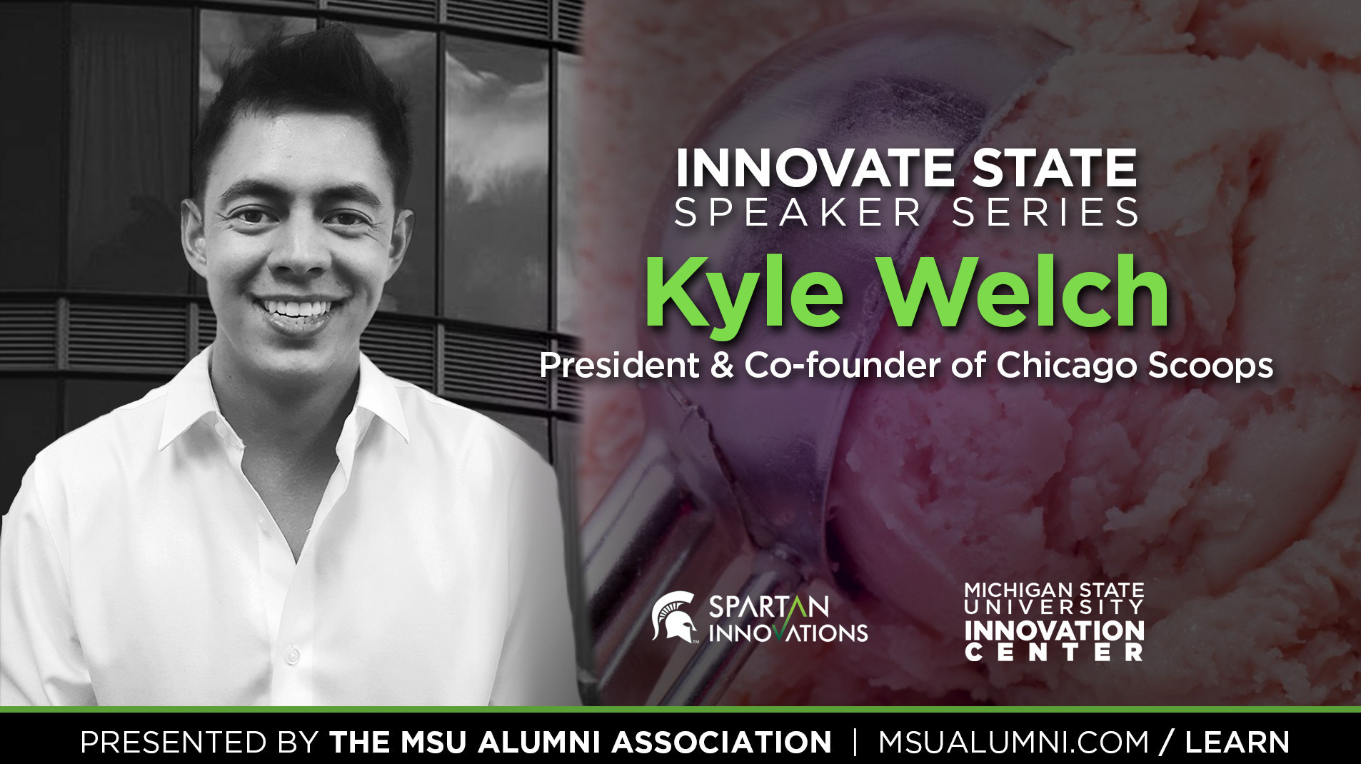 livestream cover image for Innovate State | Kyle Welch