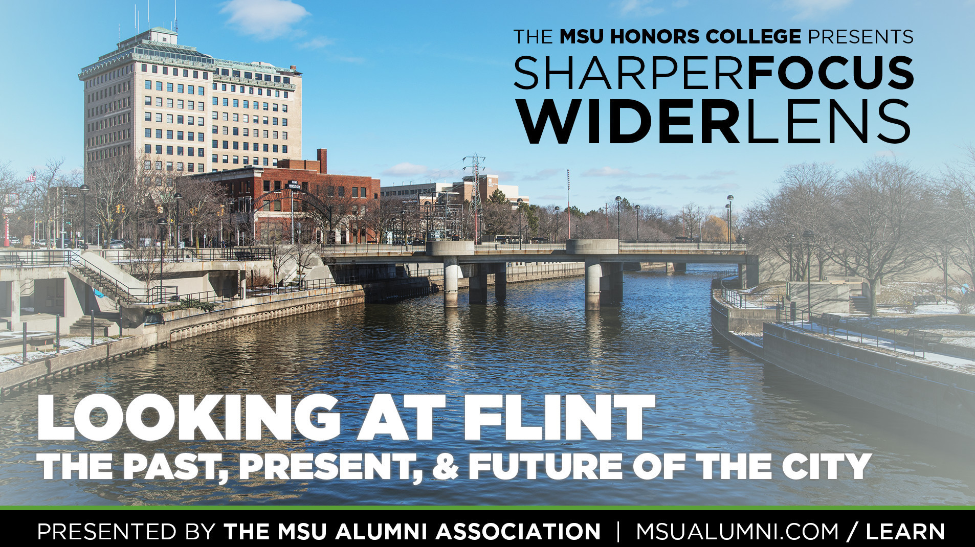 livestream cover image for SFWL | Looking at Flint: The Past, Present, & Future of the City