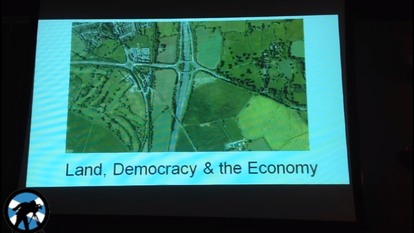 Land, Democracy and the Economy with Andy Wightman MSP