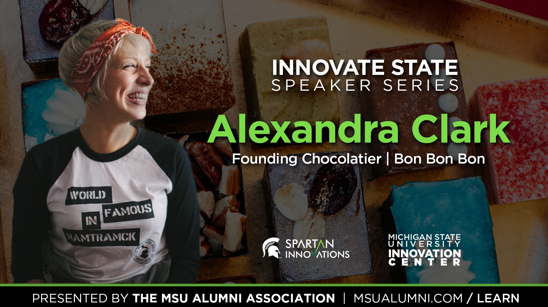 livestream cover image for Innovate State: Alexandra Clark