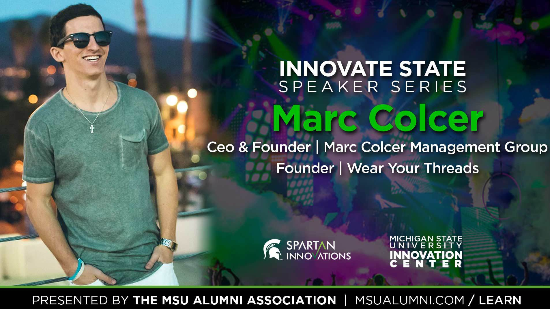 livestream cover image for Innovate State | Marc Colcer