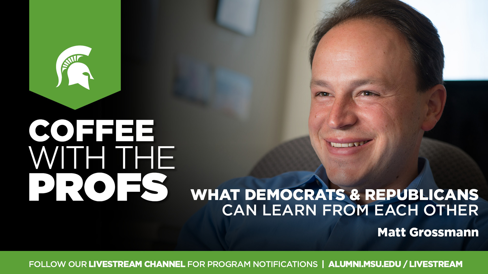 Livestream cover image for CWTP   What Democrats & Republicans Can Learn From Each Other