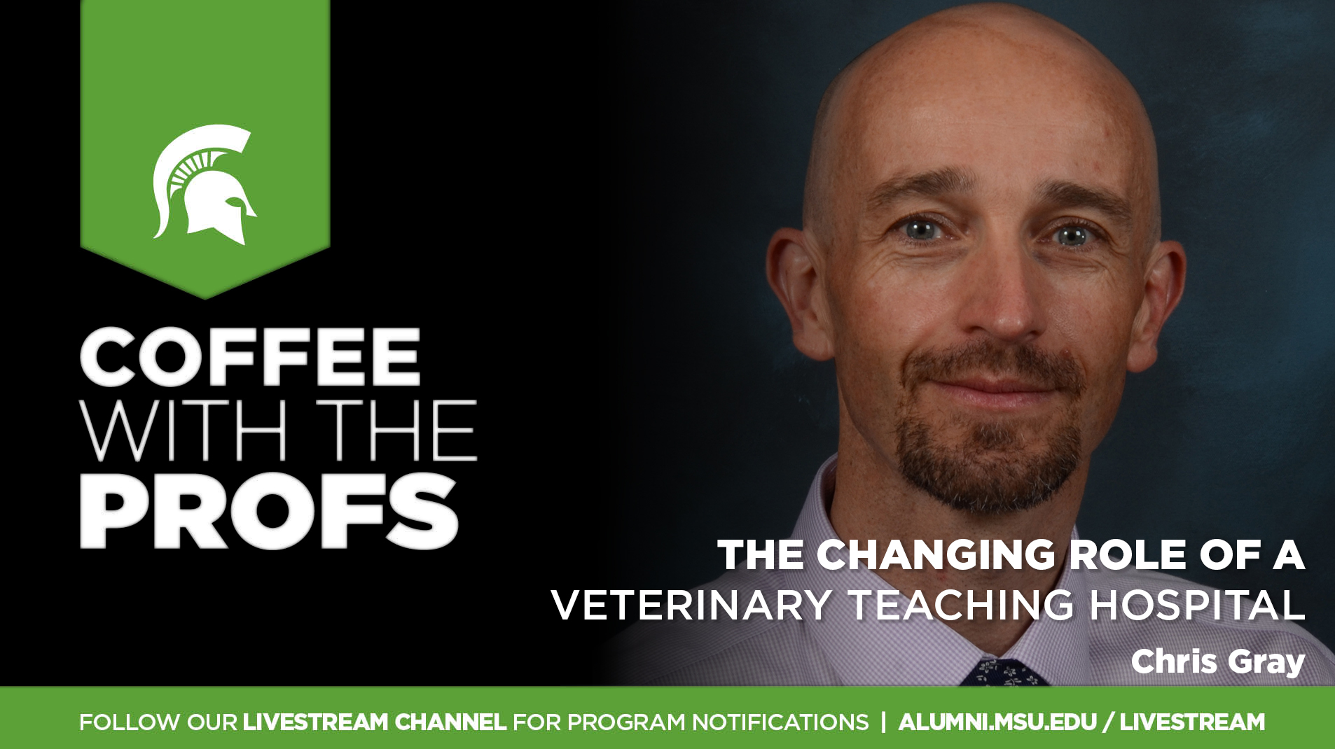 Livestream cover image for CWTP   The Changing Role of a Veterinary Teaching Hospital
