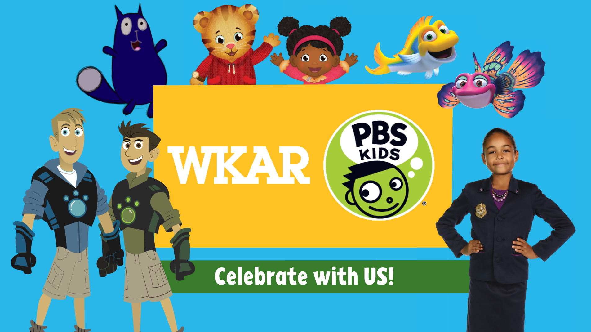 livestream cover image for WKAR | PBS Kids Day