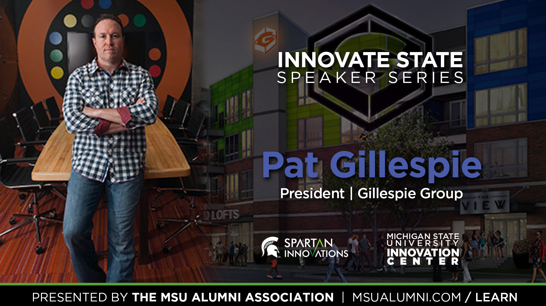 livestream cover image for Innovate State | Pat Gillespie