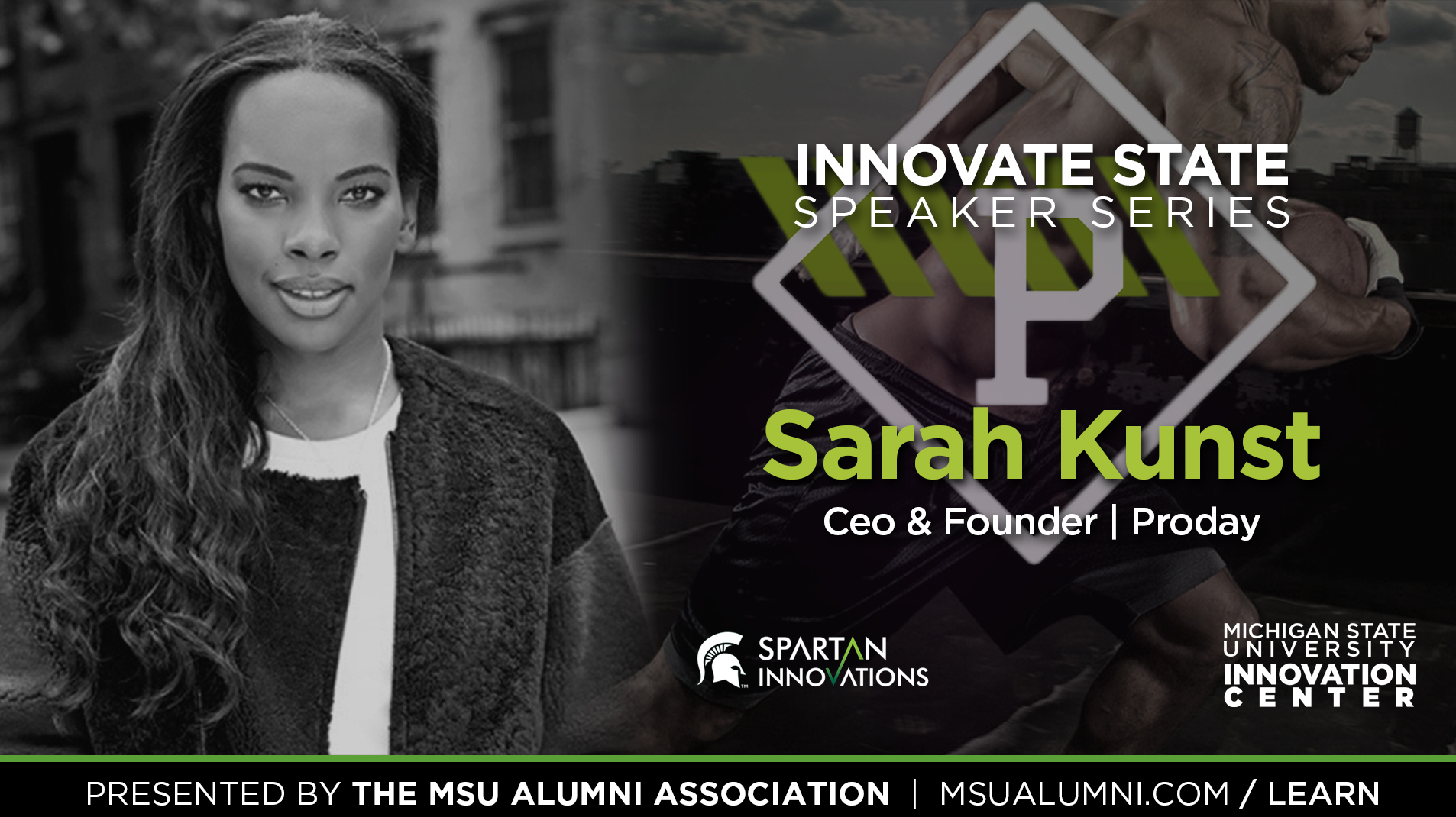 livestream cover image for Innovate State | Sarah Kunst