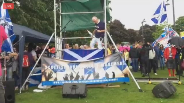 March for Independence - AUOB