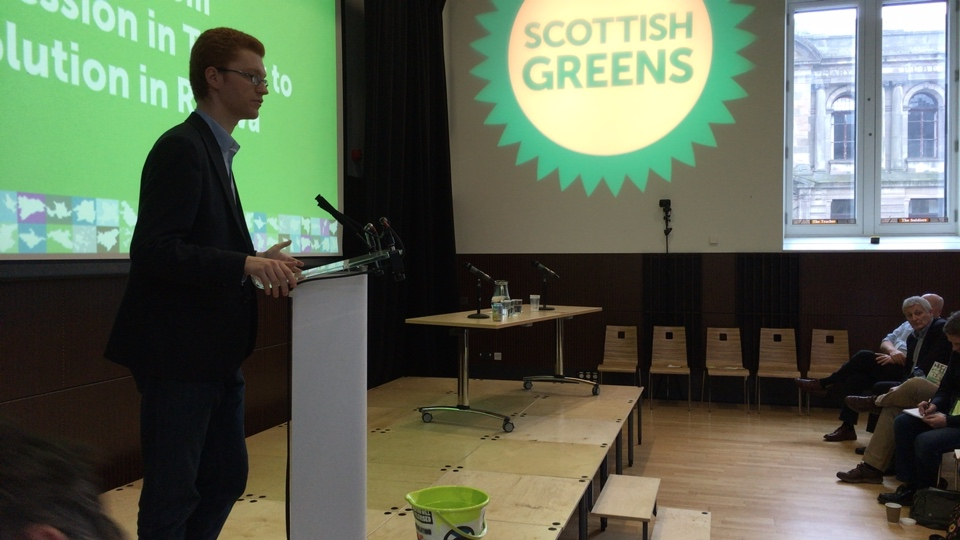 Kurdistan from the Scottish Green Party conference