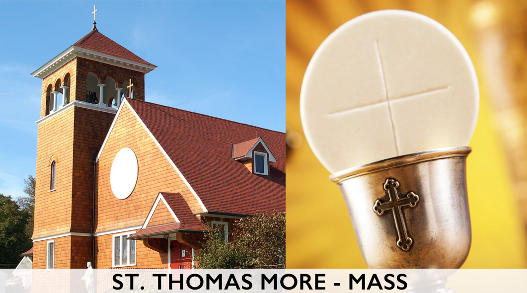 St  Thomas More | Weekly Mass on Livestream