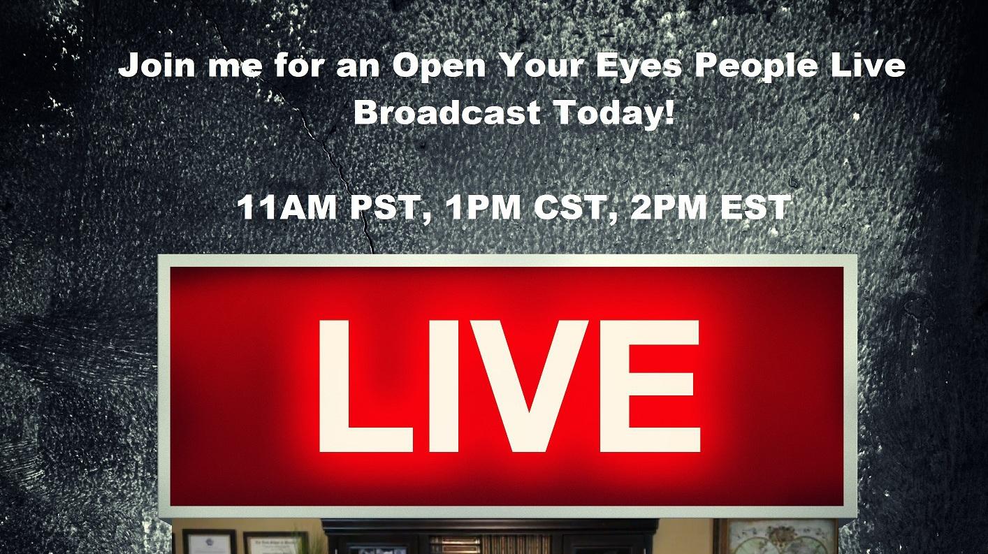 1Pm Pst To Cst thursday live prophecy broadcast! 11am pst, 1pm cst, 2pm est