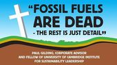 Fossils & Fracking are SO over