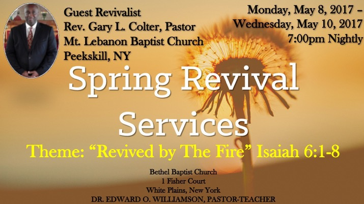 Revival Day 1 (May 8, 2017) on Livestream