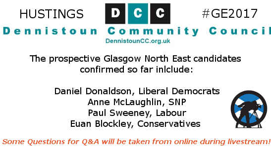 Glasgow North East Hustings #GE2017