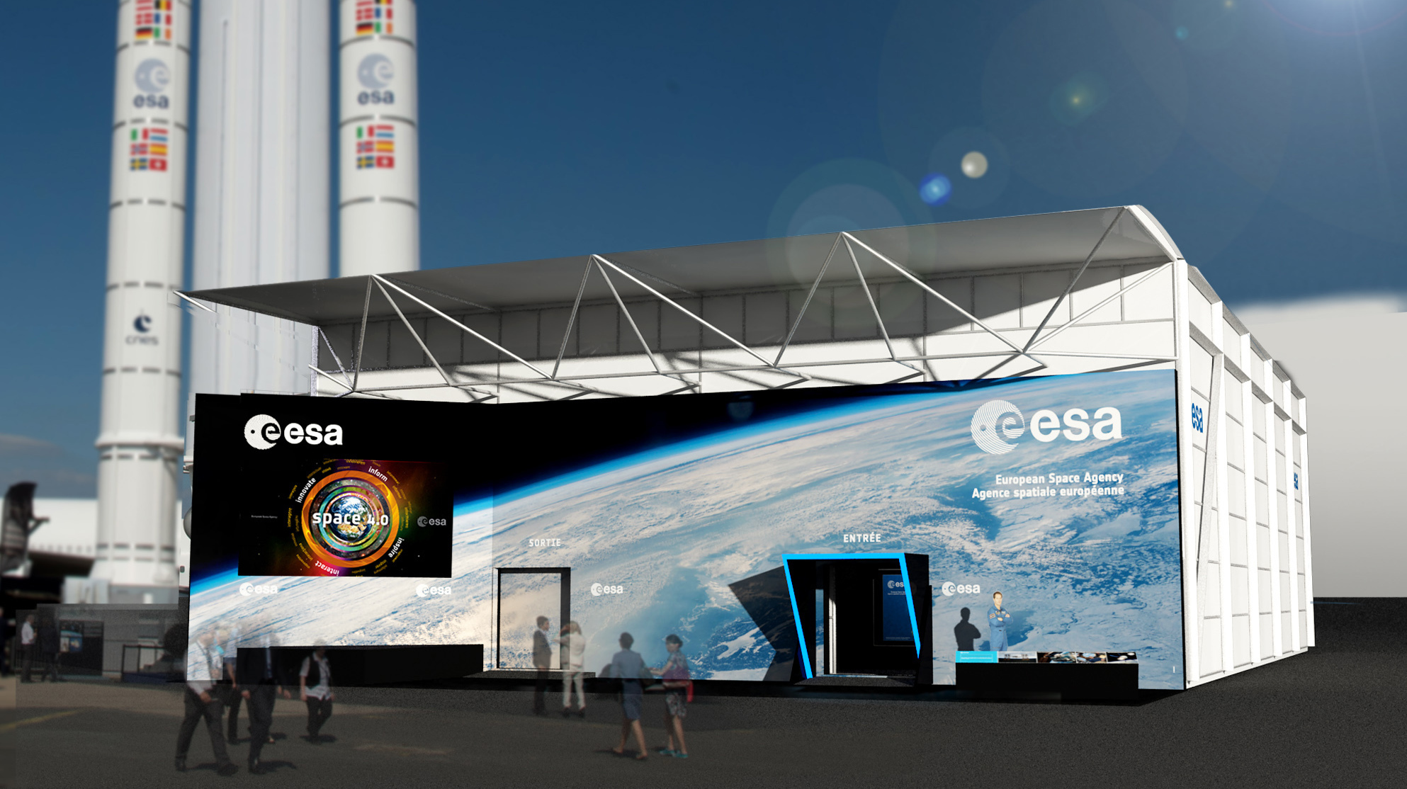 european space center - HD1986×1114