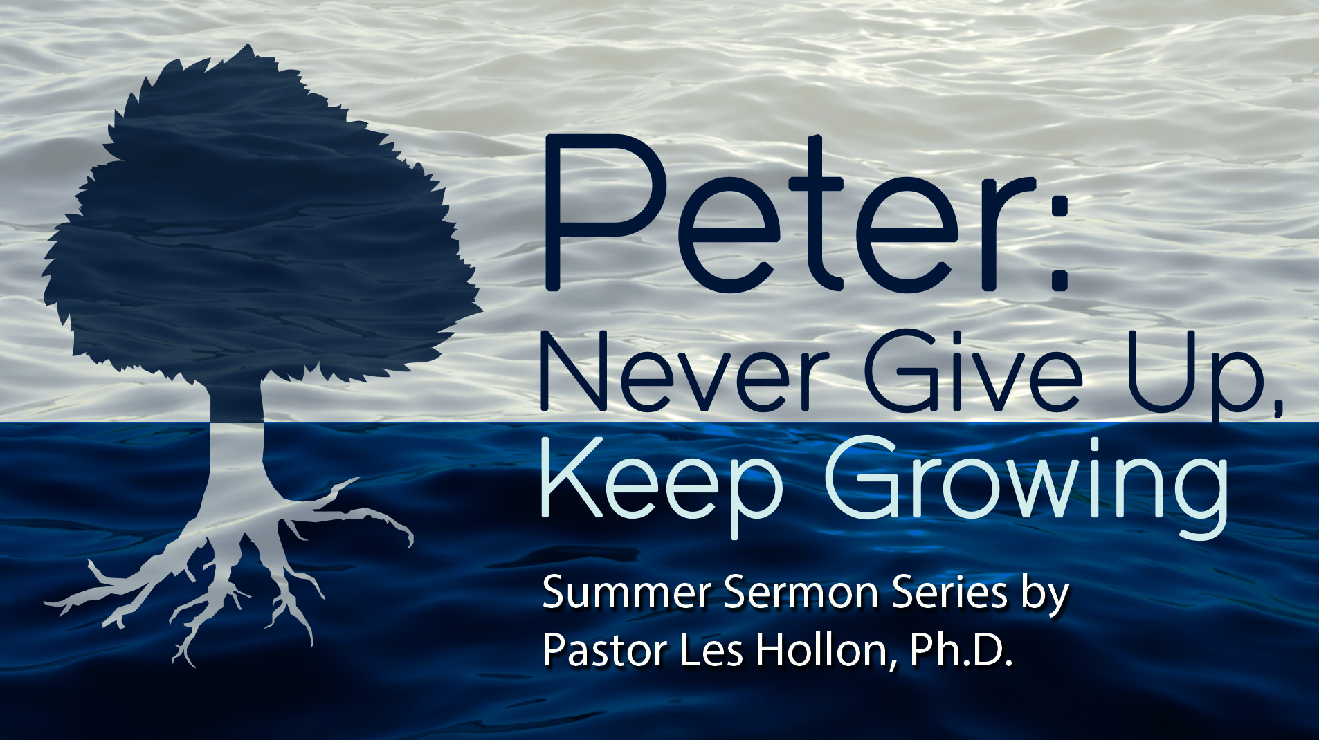Peter: Never Give Up, Keep Growing on Livestream