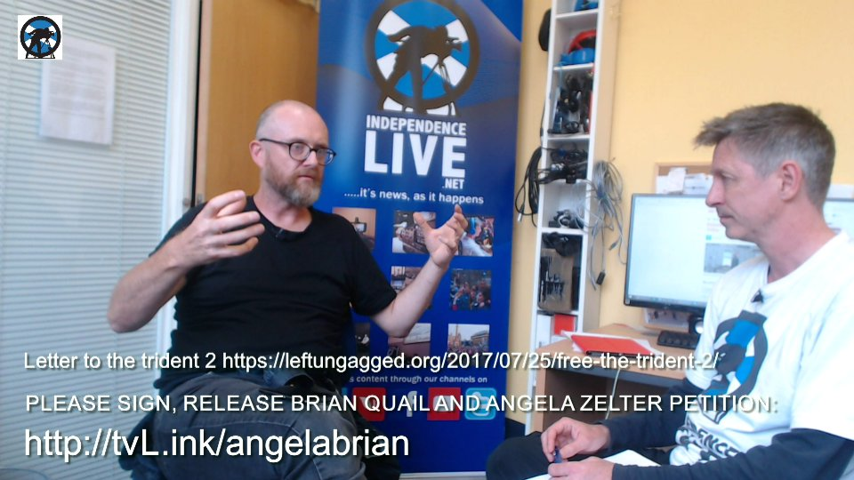 Interview with Neil Scott on Brian Quail & Angela Zelter in custody