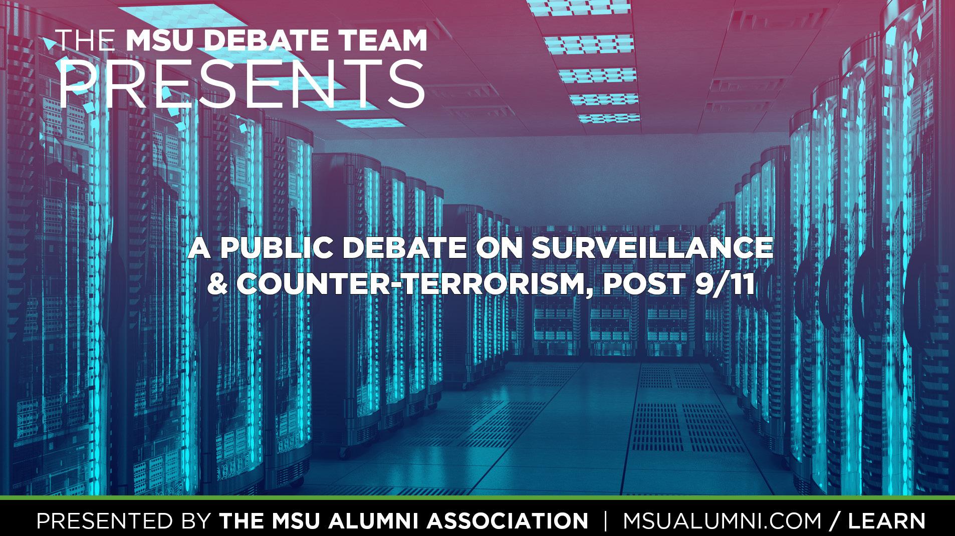 Livestream cover image for Surveillance/Counter-Terrorism Post 9/11