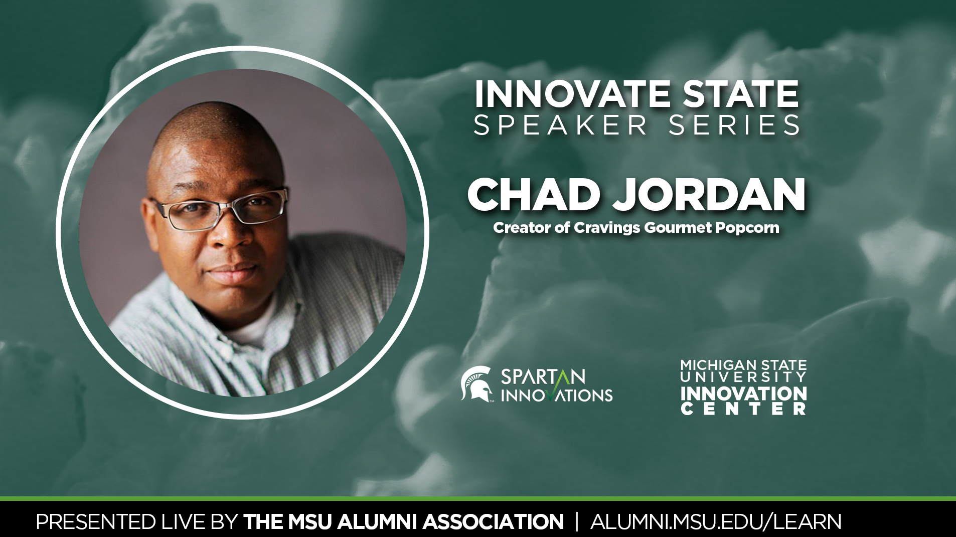livestream cover image for Innovate State | Chad Jordan