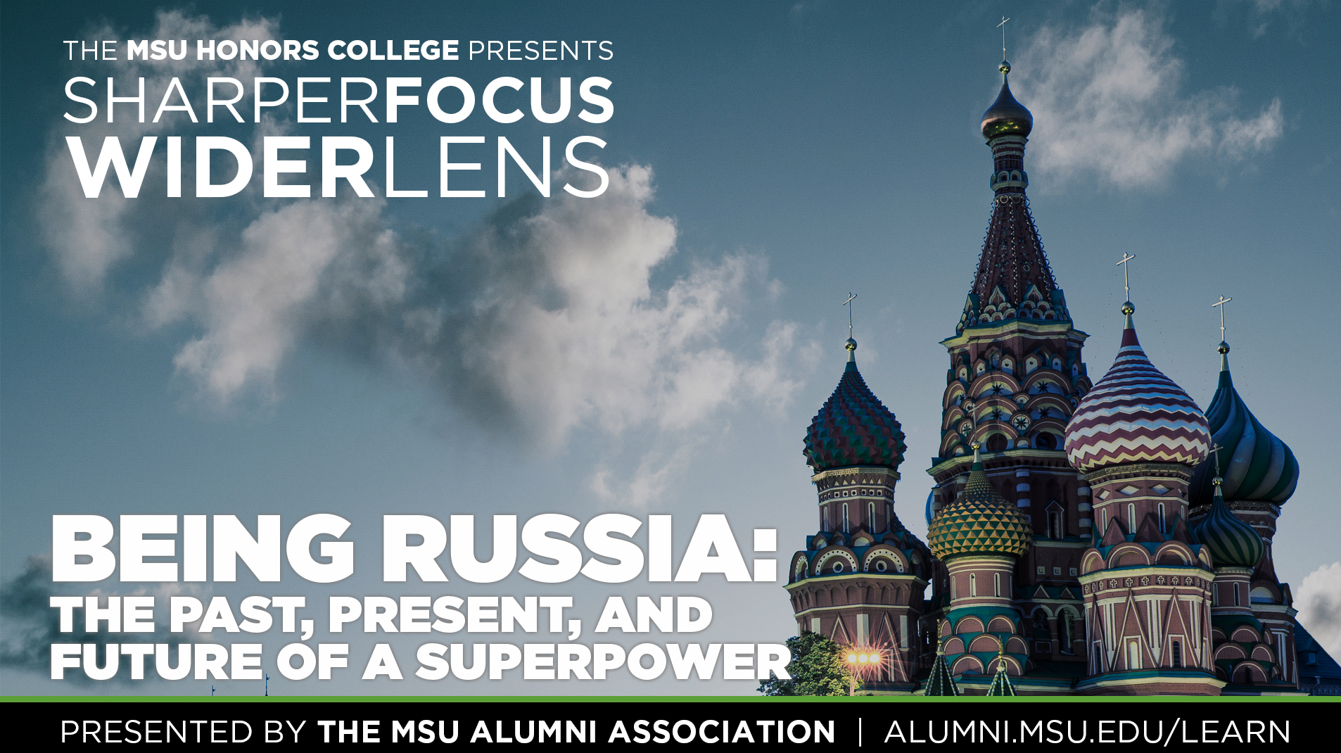 livestream cover image for SFWL | Being Russia: The Past, Present and Future of a Superpower