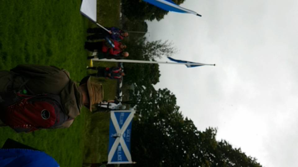 Stirling Bridge Commemoration, March and Hoolie