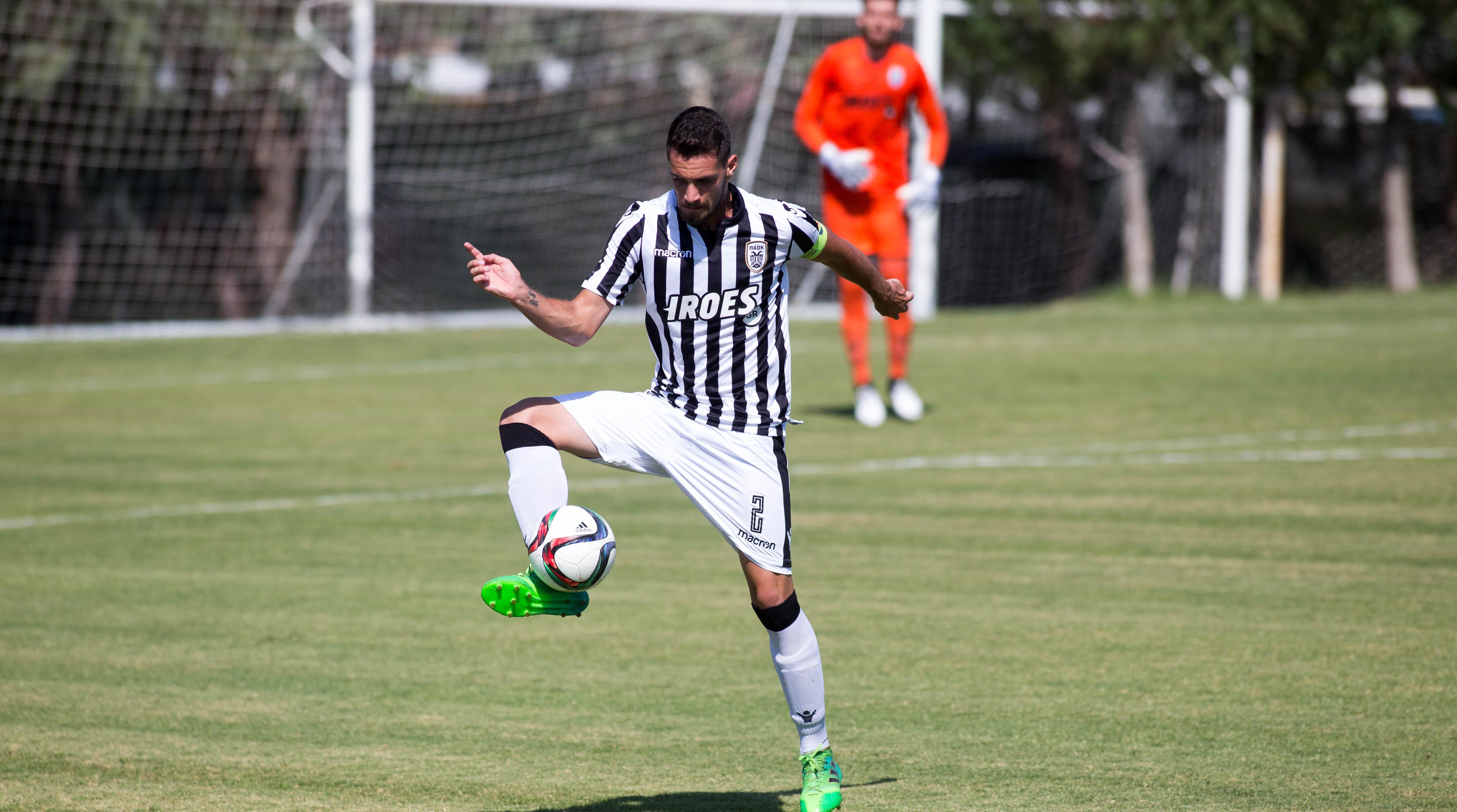 Моменты матча U-20 АЕЛ-ΠΑΟΚ