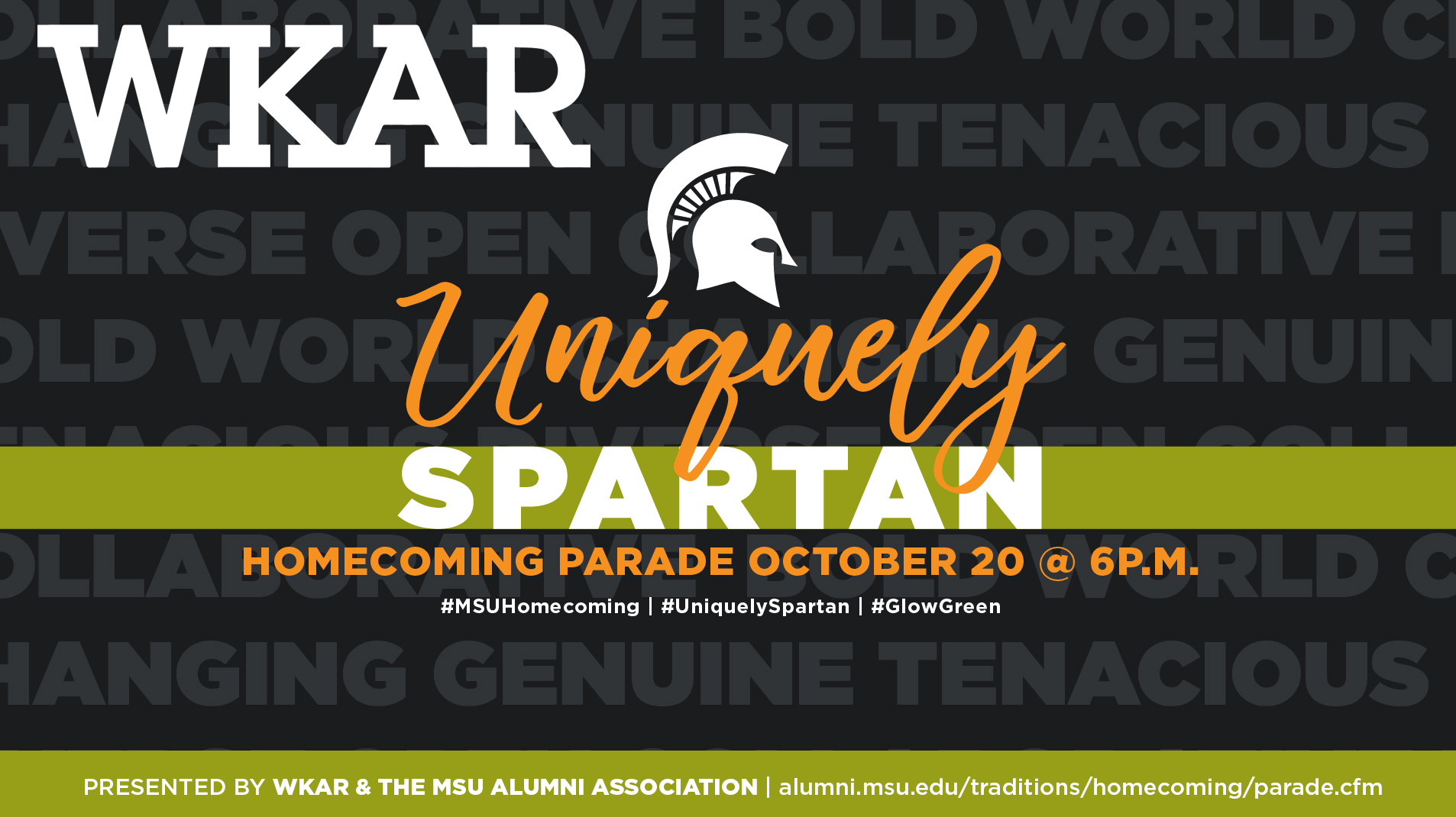livestream cover image for 2017 MSU Homecoming Parade