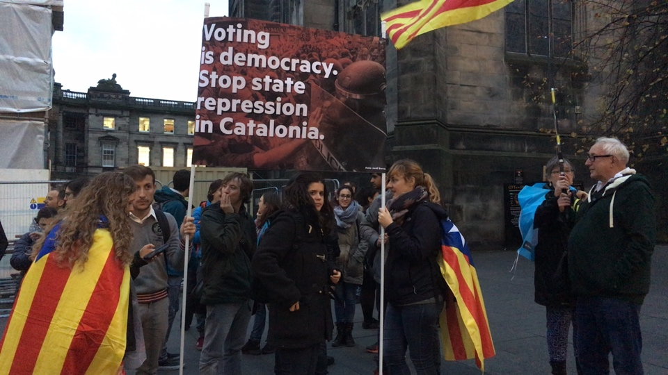 Stop State repression in Catalonia #HandsOffCatalonia