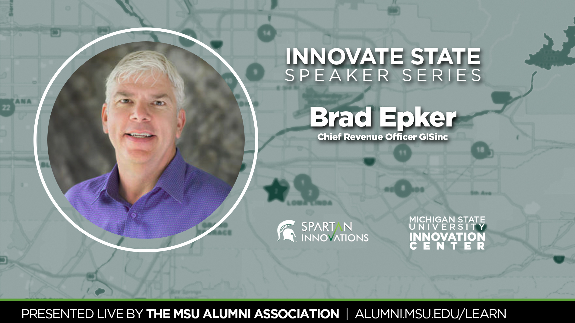 livestream cover image for Innovate State | Brad Epker