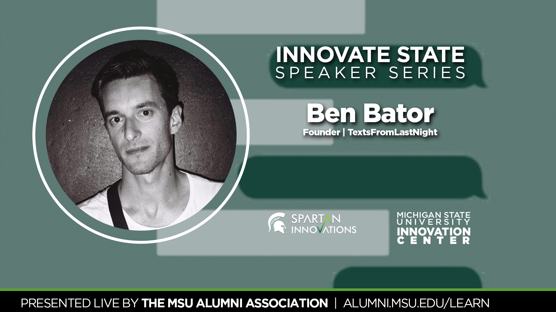 livestream cover image for Innovate State | Ben Bator