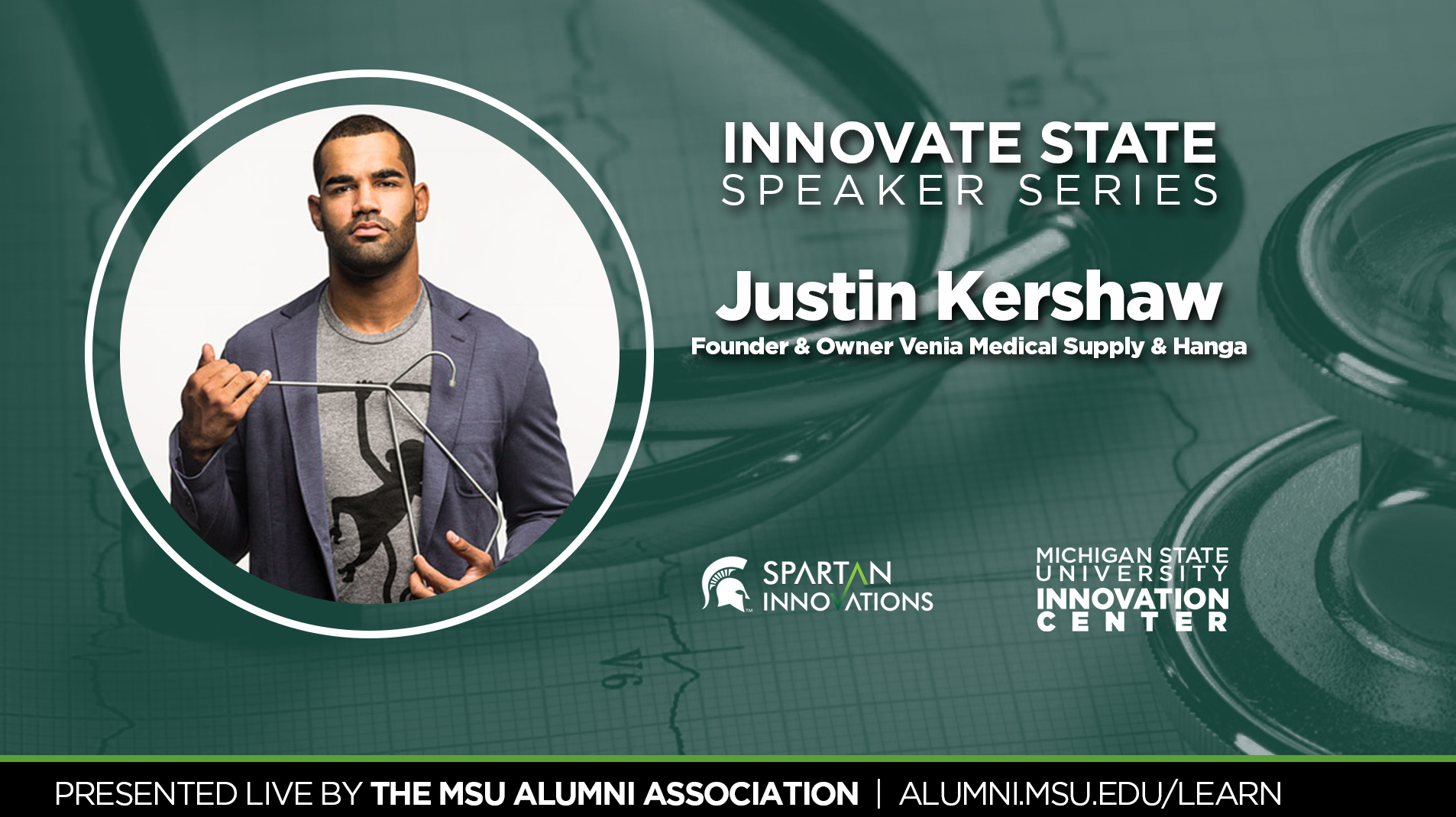 livestream cover image for Innovate State | Justin Kershaw