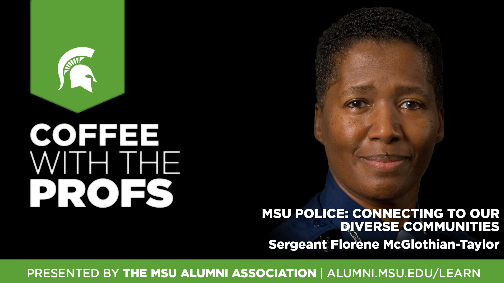 livestream cover image for CWTP | MSU Police: Connecting To Our Diverse Communities