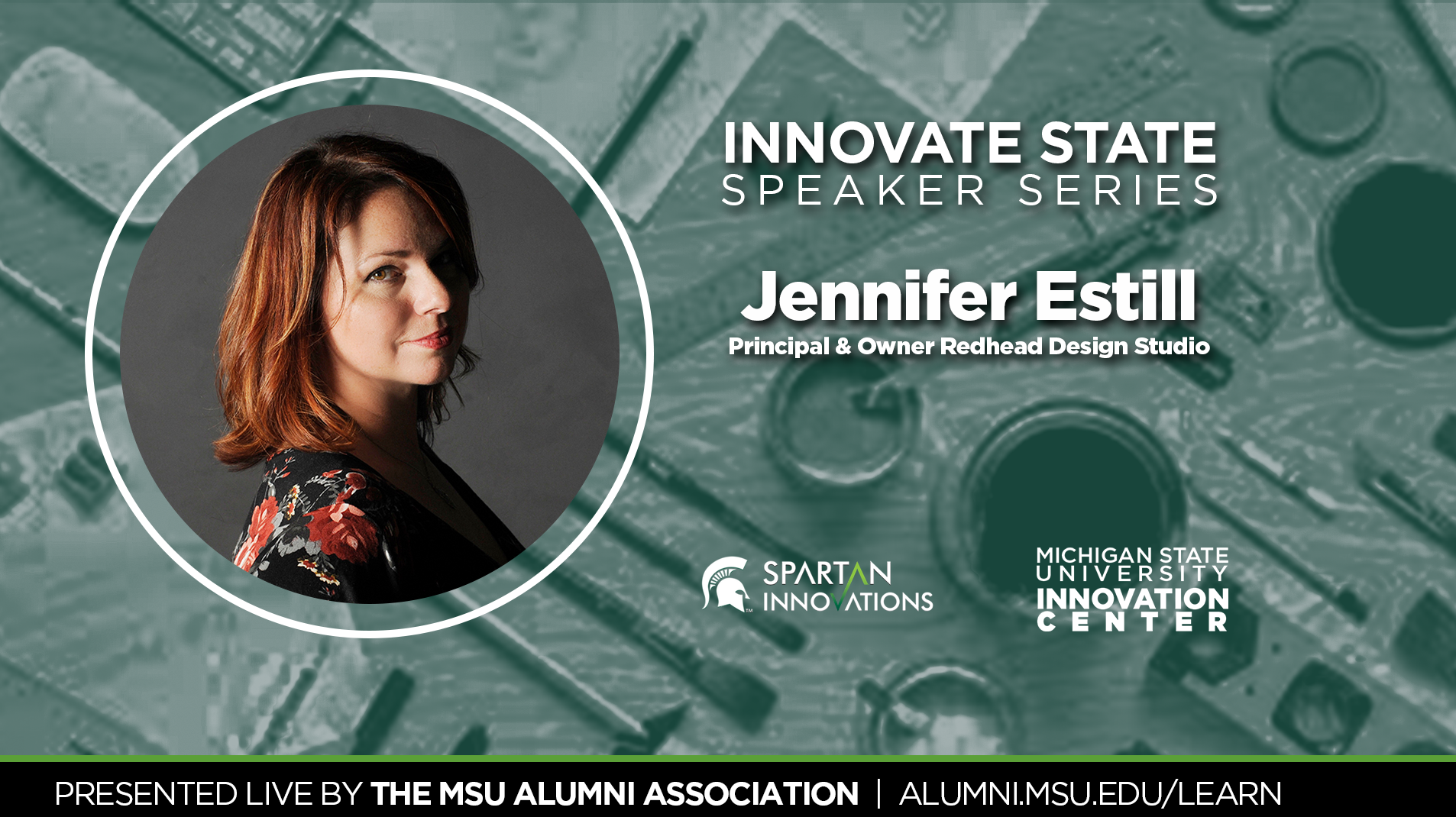 livestream cover image for Innovate State | Jennifer Estill