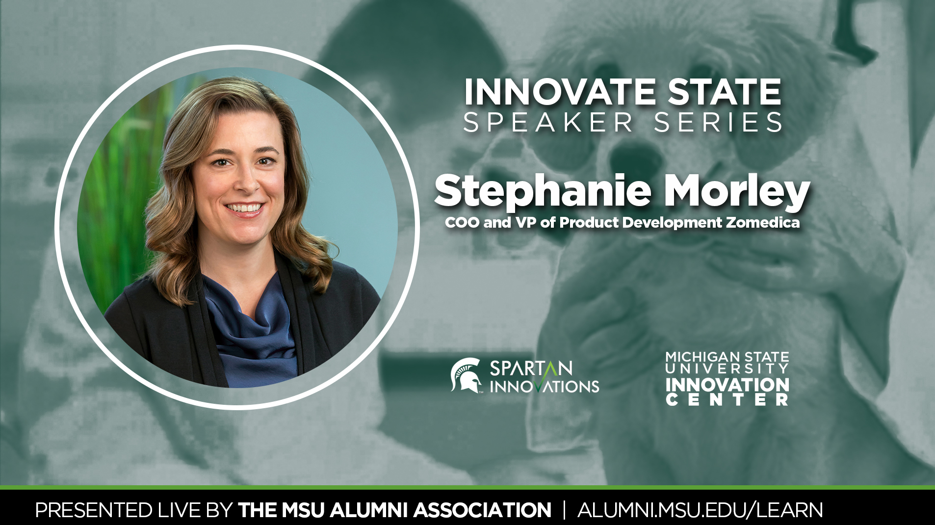 livestream cover image for Innovate State | Stephanie Morley