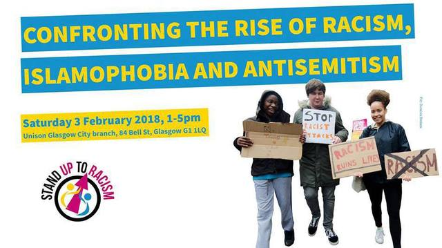 Stand Up To Racism Scotland Conference