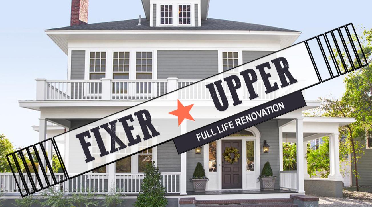 Fixer-Upper on Livestream