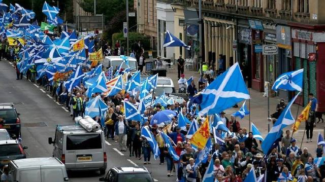 March for Independence - Glasgow