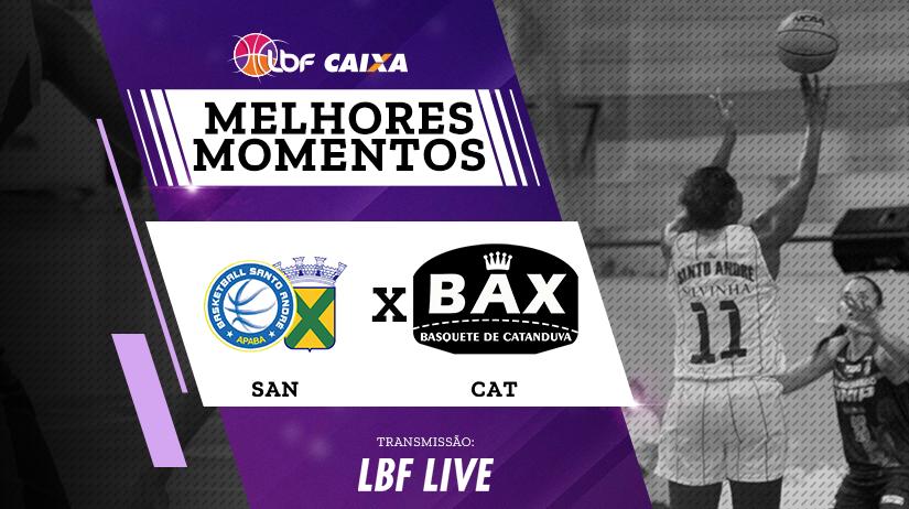 Melhores momentos de Santo André/APABA vs Poty/BAX/Catanduva