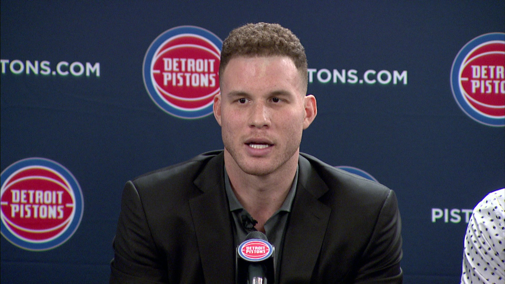 Blake Griffin Detroit Pistons Wanted Me To Play Here