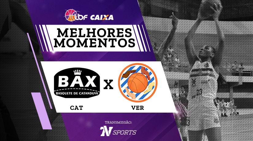 Melhores momentos de Poty/Bax/Catanduva vs Vera Cruz Campinas