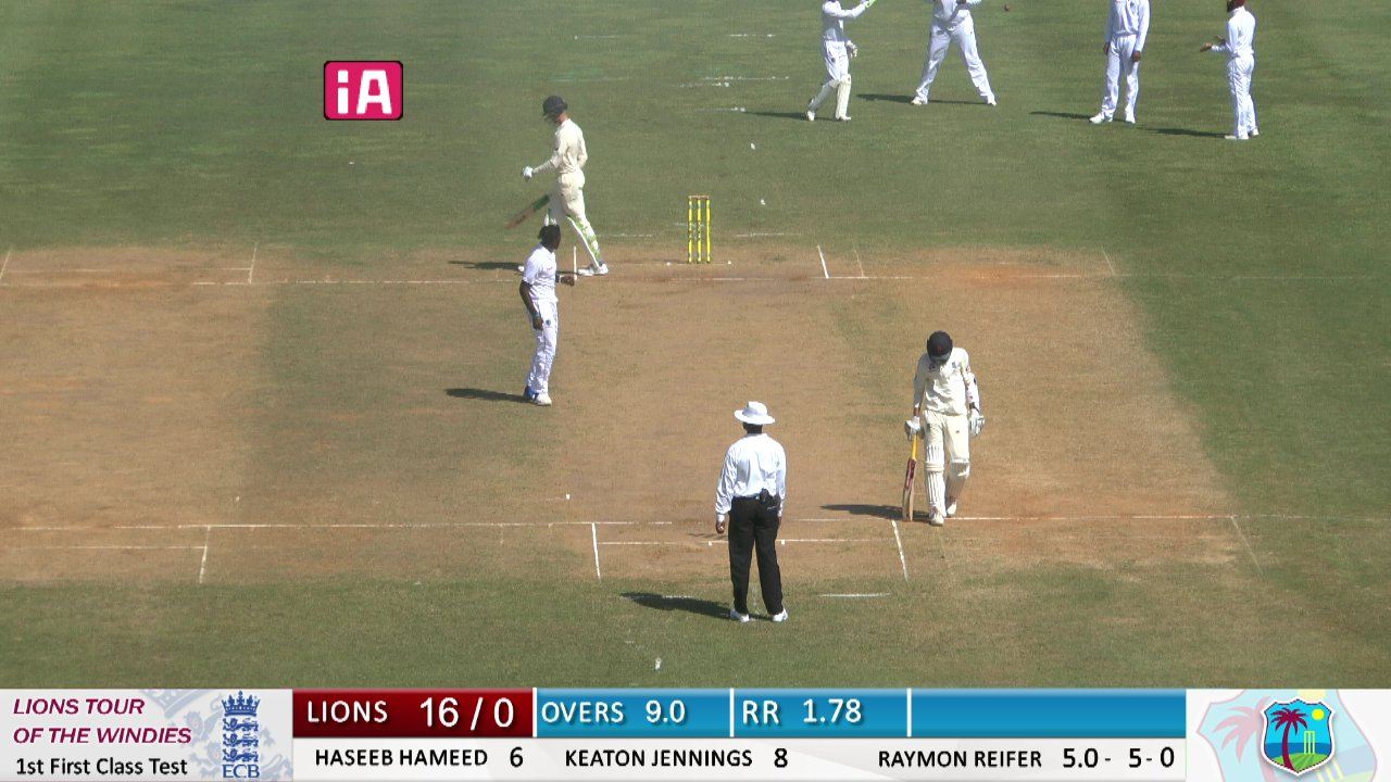 A Team Series-1st Test-Day 1 Session 1 - from A Team-1st First Class Test-Lions vs Windies A