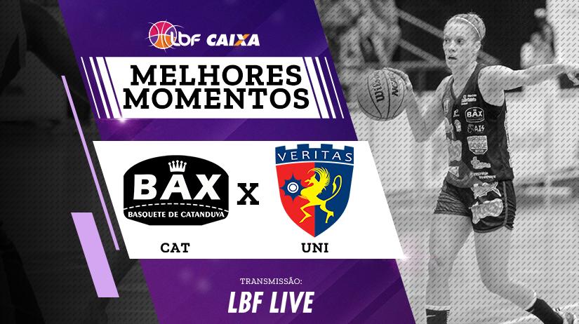 Melhores momentos de Poty/BAX/Catanduva vs Uninassau Basquete